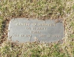 Corp Ernest Io DeHaven