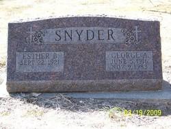 George Arthur Snyder