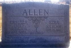 Ursulla Sue <i>Van Kleeck</i> Allen