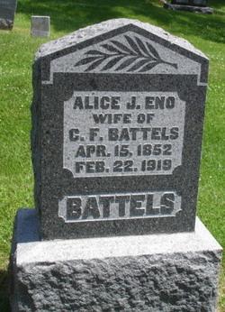 Alice J <i>Eno</i> Battels