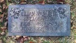 Lillian <i>Van Pelt</i> Blackwell