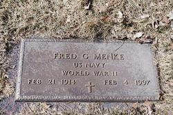 Fred G Menke