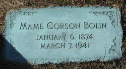 Mame L <i>Corson</i> Bolin
