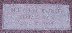 Bill Crump Bartlett