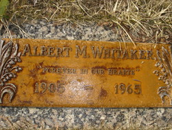 Albert M Whitaker