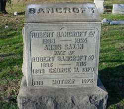 Annis <i>Saxon</i> Bancroft