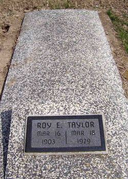Roy Earl Taylor