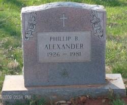 Phillip B. Alexander