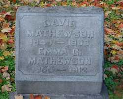 Emma G Mathewson