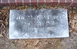 Louise H Arnold
