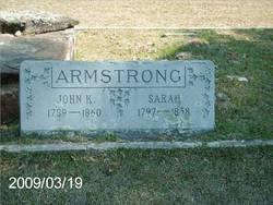 Sarah Ann <i>Poland</i> Armstrong