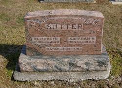 Elizabeth <i>Diller</i> Sutter
