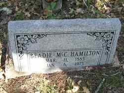 Beadie McC Hamilton