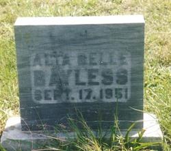 Alta Belle Bayless