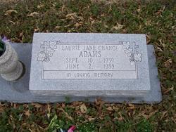 Laurie Jane <i>Chance</i> Adams