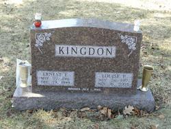 Louise P <i>McConkey</i> Kingdon