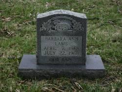 Barbara Ann Lamb