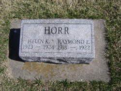 Raymond Eugene Horr