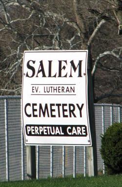 Salem Evangelical Lutheran Cemetery