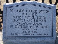 Dr Amos Cooper Dayton