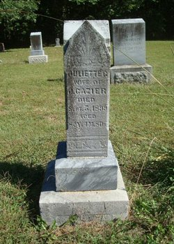 Juliette Catherine <i>Hudson</i> Cazier