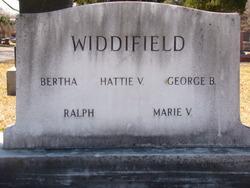 George Barton Bart Widdifield