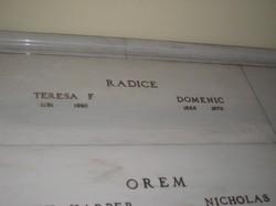 Teresa <i>Fabrizio</i> Radice