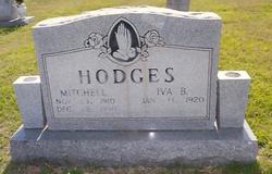Iva Bell <i>McWherter</i> Hodges