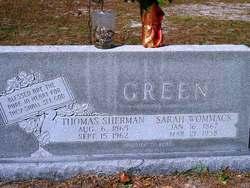 Sarah Elizabeth <i>Wommack</i> Green