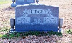 June <i>Page</i> Hedger