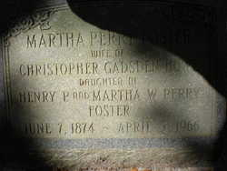 Martha Perry <i>Foster</i> Howe