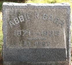 Abigail R. Abbie <i>Sharp</i> Barr