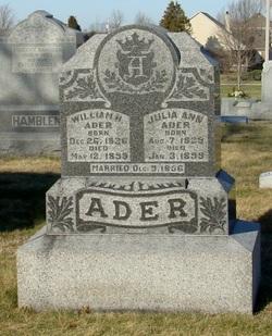 Julia Ann <i>Grayson</i> Ader