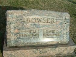 Lillie M. <i>Tullis</i> Bowser