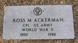 Ross M Ackerman