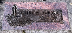 Aletha M <i>Bennett</i> Lawhorn