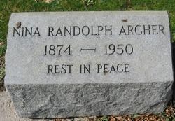 Nina Randolph Archer