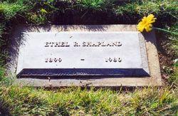 Ethel Rebecca <i>Hinkle</i> Shapland