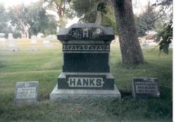 Martha E. <i>Fields</i> Hanks