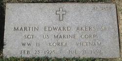Martin Edward Akers, Sr