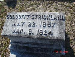 Colquitt S. Strickland