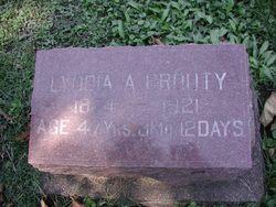 Lyddia Adeline <i>Hunter</i> Prouty