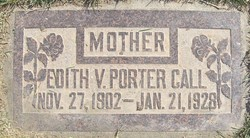 Edith Verbena <i>Porter</i> Call
