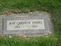 Mary May <i>Cameron</i> Adams