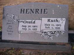 Ruth <i>Heywood</i> Henrie