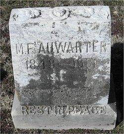 Martin Frederick Auwarter