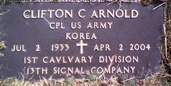 Clifton Carroll Buck Arnold