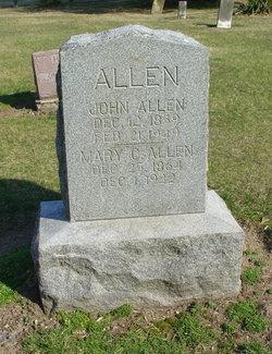 Mary Catherine <i>Hankins</i> Allen