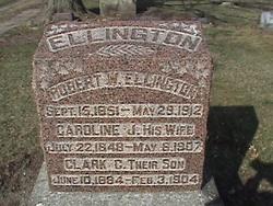 Caroline J <i>Hooe</i> Ellington