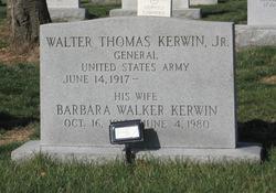 Gen Walter T. Kerwin